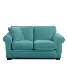 """Remo Fabric Loveseat: Custom Colors, 66""""W x 38""""D x 31""""H - Couches & Sofas - furniture - Macy's"""