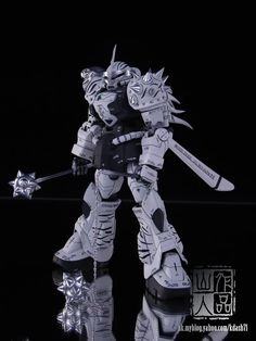 """""""White Tiger"""" Gouf customized build by kdash SEE THE GOD #1 HERE SEE THE GOD #2 HERE SEE THE GOD #3  HERE SEE THE GOD #4 HERE ..."""