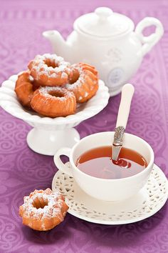 Honey Cakes and Tea.