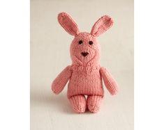 Long Eared Bunny Pattern (Knit) - Patterns - Lion Brand Yarn