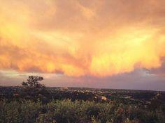 Looking east of Colorado Springs, Co