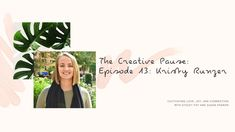 The Creative Pause is a video series hosted by Stacey Fay and Susan Padron. In a time of solitude and fear, we are cultivating joy, love and connection. Daring Greatly, Everything Is Fine, First Step, Wild Flowers, Mindset, Spirituality, Money, Creative, Youtube