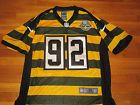NIKE PITTSBURGH STEELERS HARRISON NFL FOOTBALL JERSEY MENS 44 EXCELLENT COND.