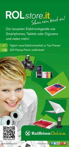 Unser aktueller Werbeflyer zum ROLstore! www.rolstore.it