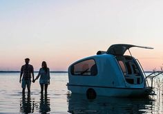 Ever wanted to use your RV as a boat? Well now you can!