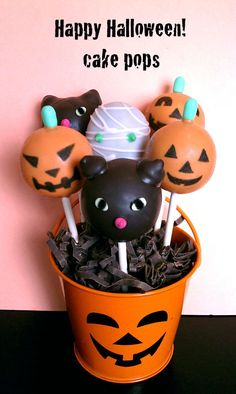 Cake Pops  Halloween Cake Pop Bouquet