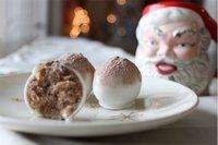 Hot coco cake balls! <3