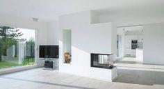 Große Räume, viele Fenster, dezente Farben, klare Formen – p…