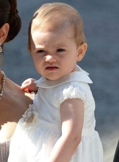 Future Queen of SwedenAge: 1 year old.Why they'll be friends: Like the royal baby, Estelle is the child of a royal and a commoner — her father Prince Daniel was a personal trainer and gym owner before he married her mother, Crown Princess Victoria.