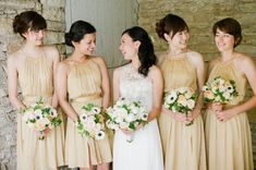 Stella and Tim's Rochester, Minnesota, wedding is filled with romance and charm, and the sweet details shine through in these sweet images from Laura Ivanova Ph Bridesmaid Tips, Gold Bridesmaid Dresses, Bridesmaids And Groomsmen, Wedding Bells, Wedding Gowns, Wedding Wishes, Wedding Bouquets, Perfect Wedding, Dream Wedding
