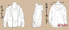 Shirt T Shirt Hoodie Lederfalte Manga Clothes, Drawing Anime Clothes, Hand Drawing Reference, Art Reference Poses, Manga Drawing Tutorials, Drawing Tips, How To Draw Hoodies, Drawing Poses Male, Shirt Drawing