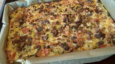 Schüttelpizza lowcarb – das einfachste Rezept ever!                                                                                                                                                                                 Mehr