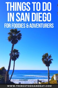 Traveling to San Diego, California? Here are some of the best things to do in San Diego! Over 40 activities for foodies and adventurers! #sandiego #travel #thingstodo #california