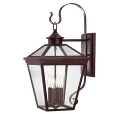 "GARAGE LIGHT: View the Savoy House 5-142 Ellijay 4 Light 25.5"" Tall Outdoor Wall Sconce at LightingDirect.com."