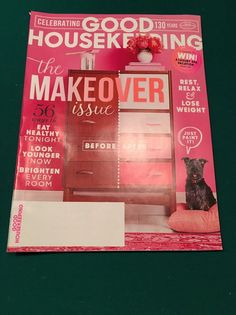 GOOD HOUSEKEEPING  Magazine - The Makeover Issue - January, 2016