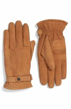 982fa403b632d Barbour Leather Gloves camel men s accessory Barbour Gloves