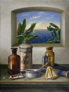 2006 Mattino, by Antonio Nunziante, 40x30, olio su tela