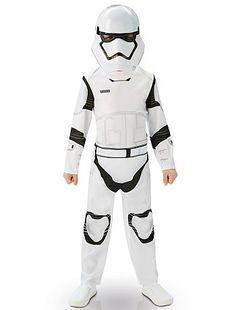 Déguisement de 'Stormtrooper'                             blanc Enfant  - Kiabi