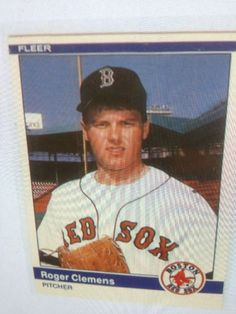 1984 Fleer Update #27 Roger Clemens Rookie RC MINT  FROM SET