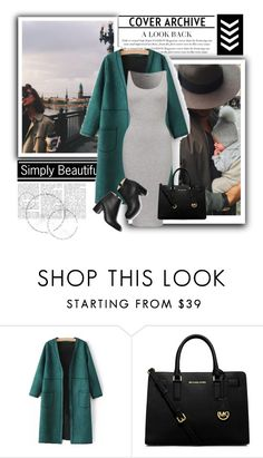 """""""Untitled #159"""" by soniadomi ❤ liked on Polyvore featuring Paul Andrew and MICHAEL Michael Kors"""