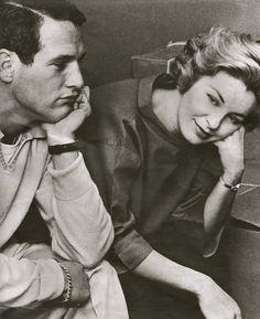 Paul Newman and Joanne Woodward, 1959