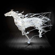 Enthralling Plastic Sculptures - Sayaka Ganz's