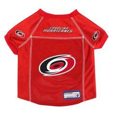 75a1484fd NHL Carolina Hurricanes Pet Jersey - XS Color  Multicolored. Pattern  Team  logo.