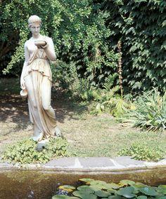 """EBE #469 - 341 lbs. - 63"""" tall - 16"""" tall - 16.1"""" L - 16.1"""" W - Garden Statuary"""