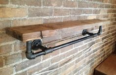 DIY: Industrial Pipe Shelf