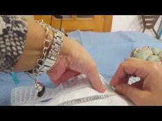 CAPRICHOS DE BOLILLOS Corte y deshilado de vainicas - YouTube