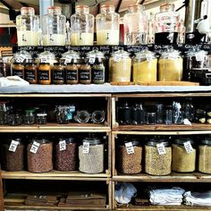 Currently on the blo Zero Waste Grocery Store, Bulk Store, Bulk Food, Store Displays, Cafe Interior, Sustainable Living, Store Design, South Africa, Blog