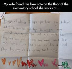 The cutest Valentine's day card…