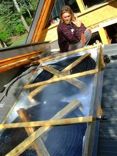 simple and awesome diy solar shower