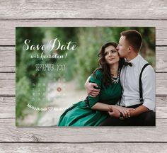 Einladungskarten - Save the Date - Postkarte - VINTAGE - ein Designerstück von Imke-Manigel bei DaWanda