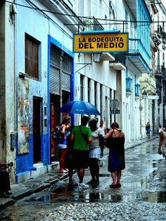 Bahama Bob's Rumstyles: La Bodeguita de Medio, Just Down the Alley to the ...