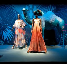 Printemps windows 2014 Summer, Paris   France window display