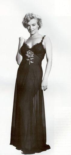 "Marilyn Monroe, costume test for ""Niagara"", 1952."