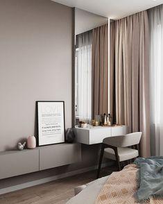 Simple Bedroom Design, Luxury Bedroom Design, Bedroom Closet Design, Home Room Design, Small Room Bedroom, Home Decor Bedroom, Living Room Decor, Modern Luxury Bedroom, Bedroom Cupboard Designs