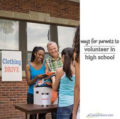 ways for parents to volunteer in high school High School Hacks, High School Outfits, In High School, School Tips, Skills To Learn, Life Skills, Parent Volunteers, School Attendance, Parent Resources