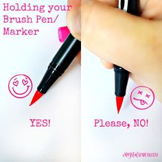 Let's start with the Basics of Lettering   Going over brush pens/markers, paper, and other tips   - www.chrystalizabeth.com