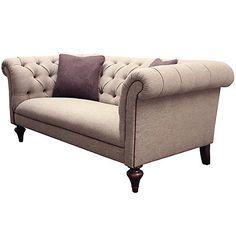 Buy Tetrad Harris Tweed for John Lewis Gleneagles Medium Sofa, Heather Tweed…