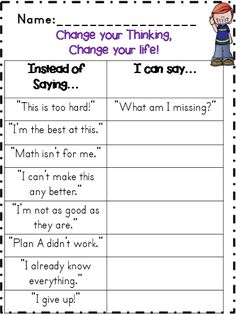 growth mindset activity                                                       …