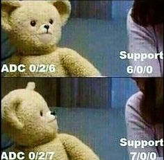 When your adc sucks and they get offended