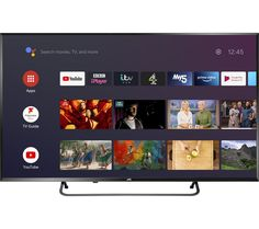 """Buy JVC LT-40CA890 Android TV 40"""" Smart 4K Ultra HD HDR LED TV with Google Assistant 