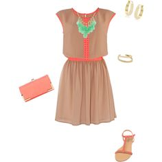 """""""Summer party outfit"""" by stylelover10 on Polyvore"""
