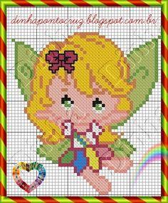 Fairy pattern by Dinha Ponto Cruz
