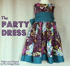 Mums make lists ...: Free Girls Dress Patterns