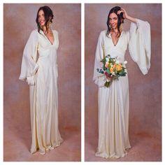 Hey, I found this really awesome Etsy listing at https://www.etsy.com/au/listing/184139905/ivory-pure-silk-bohemian-wedding-dress