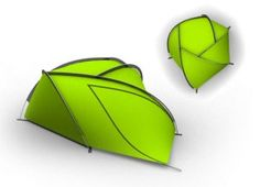 Biomimetic tent
