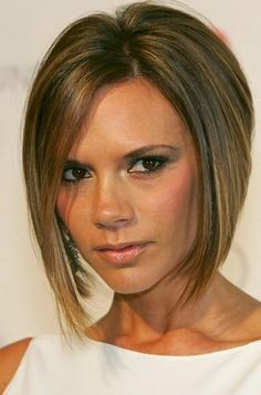 Hairstyle With A Line Bob Victoria Beckham Last Hair Models